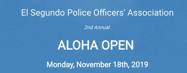 Date Change! - Aloha Open Golf Tournament has been moved to November 18th, 2019